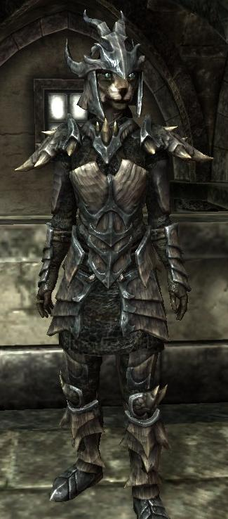 Dragonplate Armor and Dragonscale ArmorDragonscale Armor Skyrim Argonian