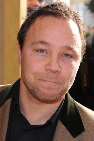 The 44-year old son of father (?) and mother(?), 166 cm tall Stephen Graham in 2017 photo