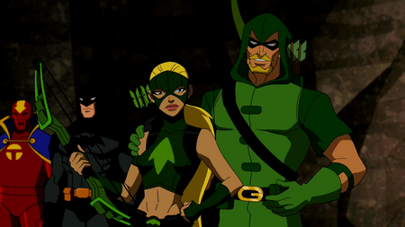Artemis and Kid Flash - Young Justice Wiki: The Young ...