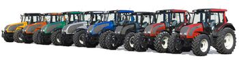 Valtra color choices - 2009
