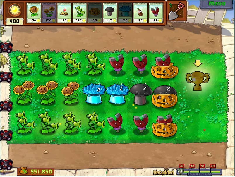 setting day variation only three lanes can be planted difficulty