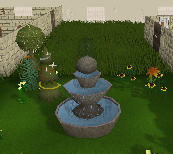 Marble Block Runescape : Large fountain the runescape wiki