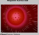 Negative Karma Ball Card