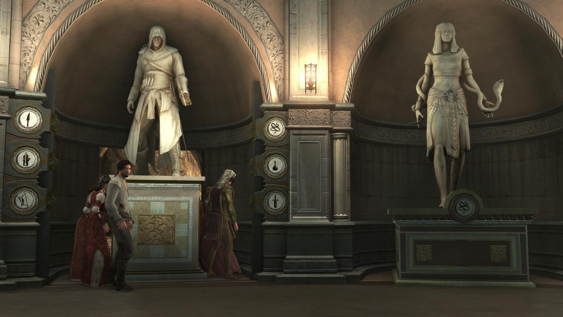 Crypte Villa Assassin S Creed