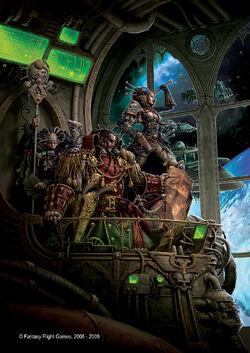 Rogue Trader RPG Cover