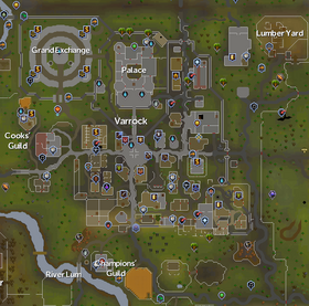 Varrock map