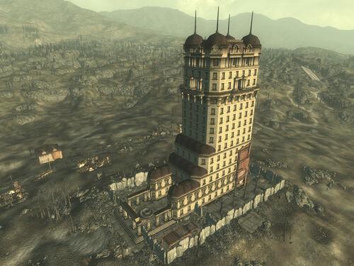 Tenpenny tower krypta for Entrance to rivet city