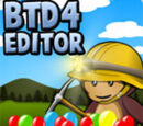 Bloons Tower Defense 4 Track Editor