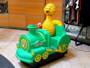 9 Seater Car >> Sesame Street coin-operated rides - Muppet Wiki