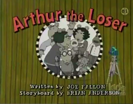 Image Arthur The Loser Title Card Png Arthur Wiki Wikia