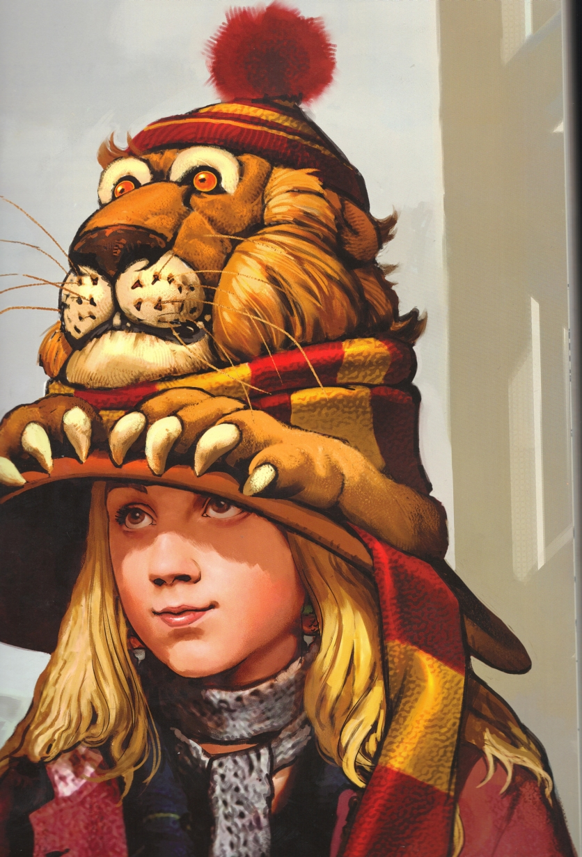 Luna Lovegood's lion hat - Harry Potter Wiki