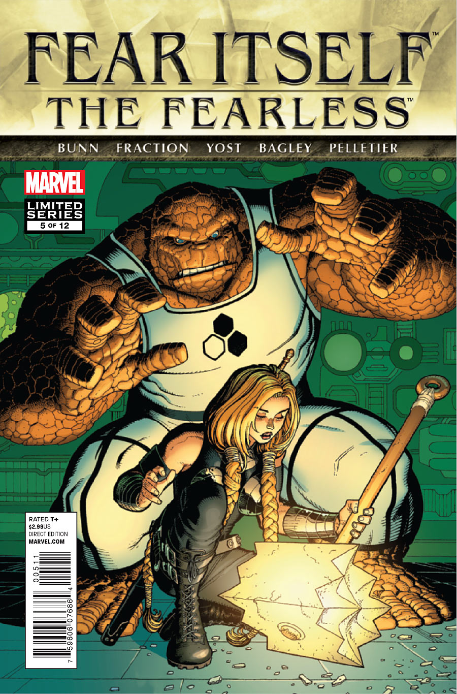 Fear Itself: The Fearless Vol 1 5 - Marvel Comics Database