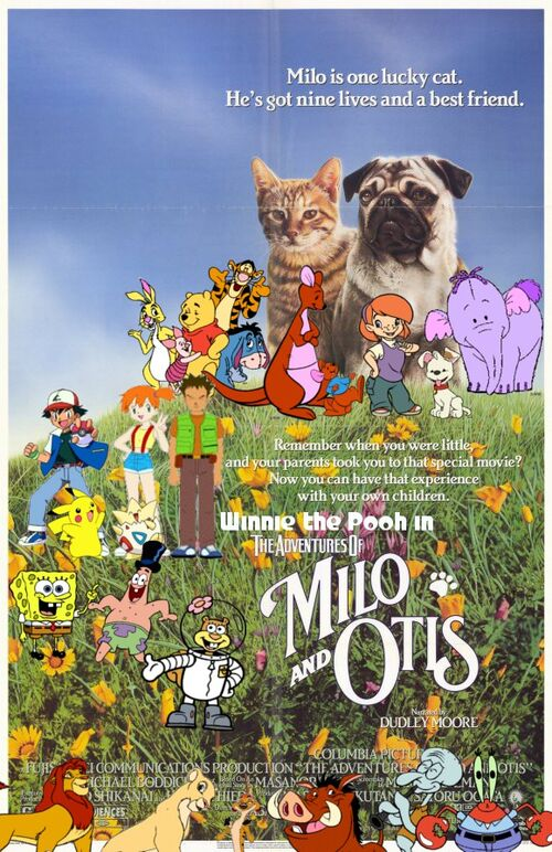 Winnie The Pooh In The Adventures Of Milo And Otis Pooh