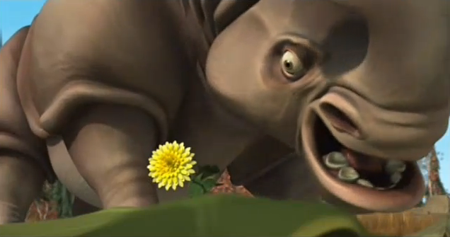 Image - Ice Age Carl Spots A Dandelion.png - Ice Age Wiki | 636 x 335 png 187kB