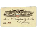 AL Baseball Field Pass 1953