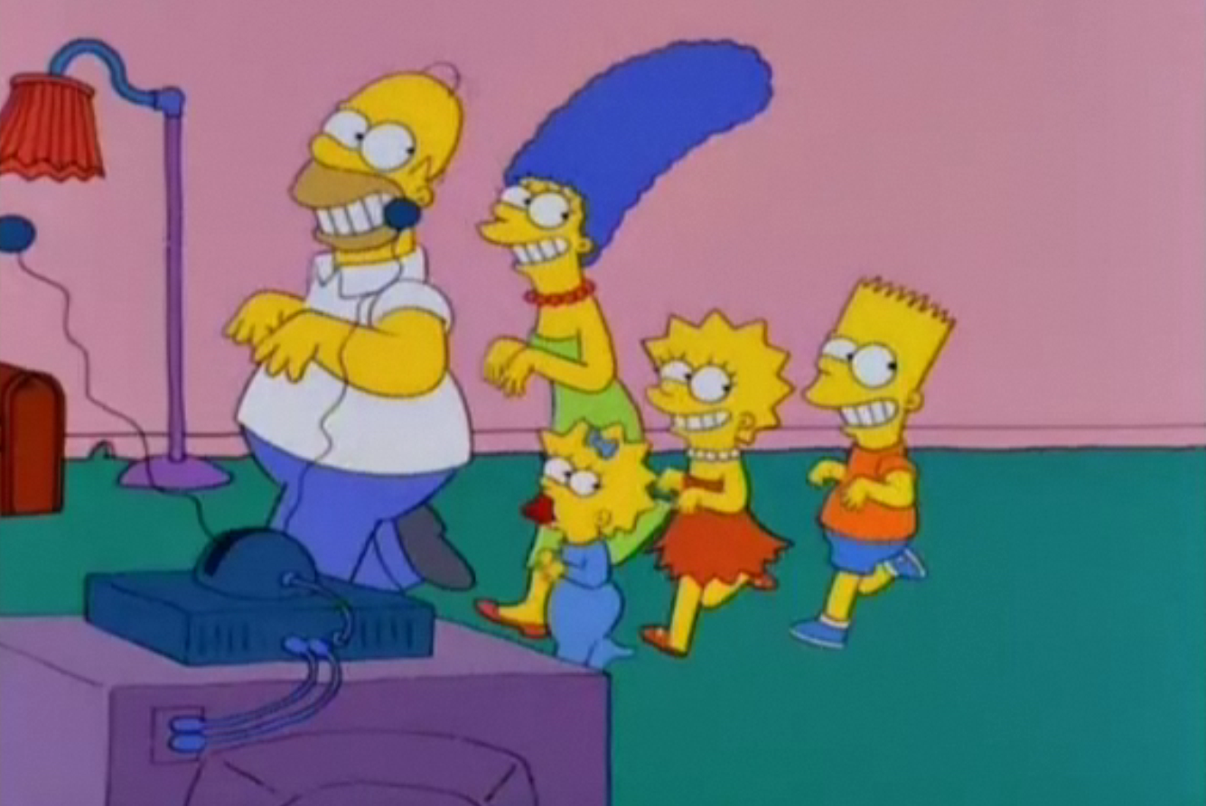 Repeating Room Couch Gag Simpsons Wiki