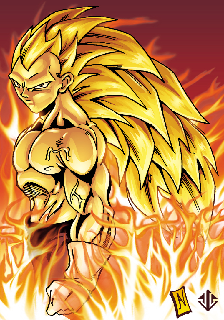 Majin goku dragon ball updates wiki - Vegeta super sayen ...