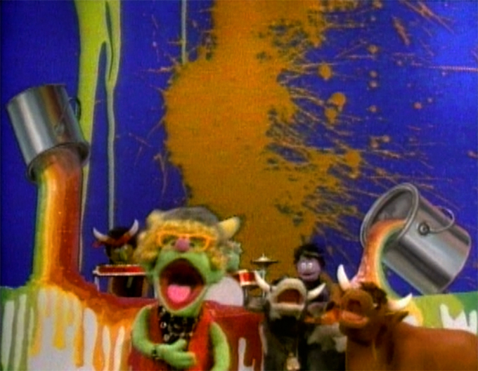 Wet Paint Cerf Stone Muppet Wiki Wikia