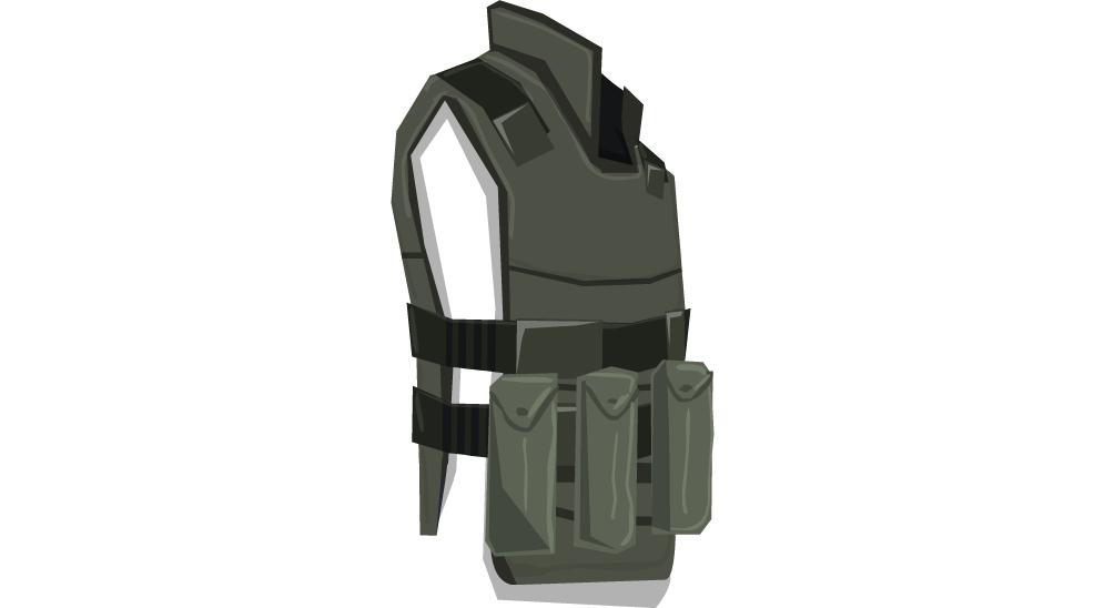 The vest in the game files