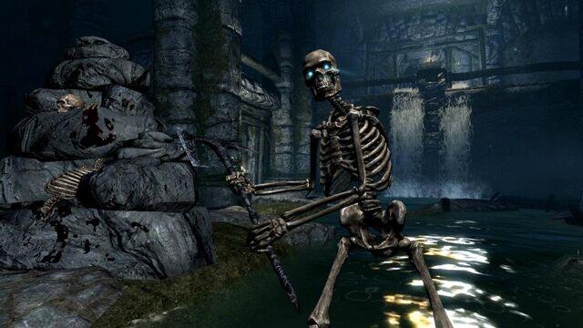 KillerExe_01's Skyrim Skeleton Sounds [The Elder Scrolls V
