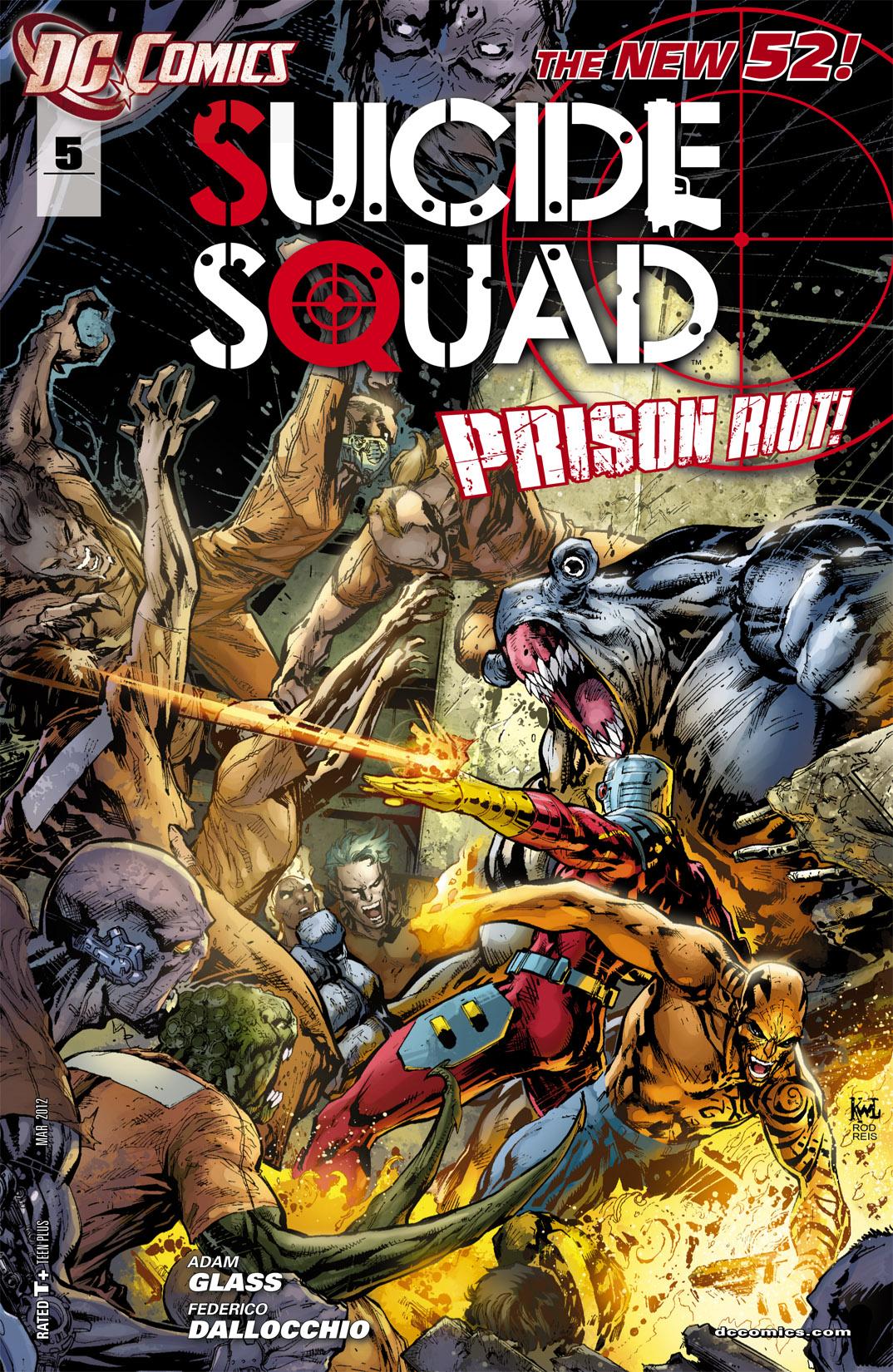 suicide squad vol 4 5 dc comics database