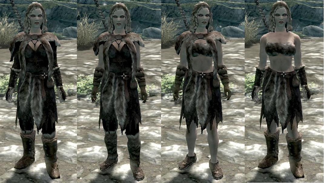 skyrim how to change other npc clothes