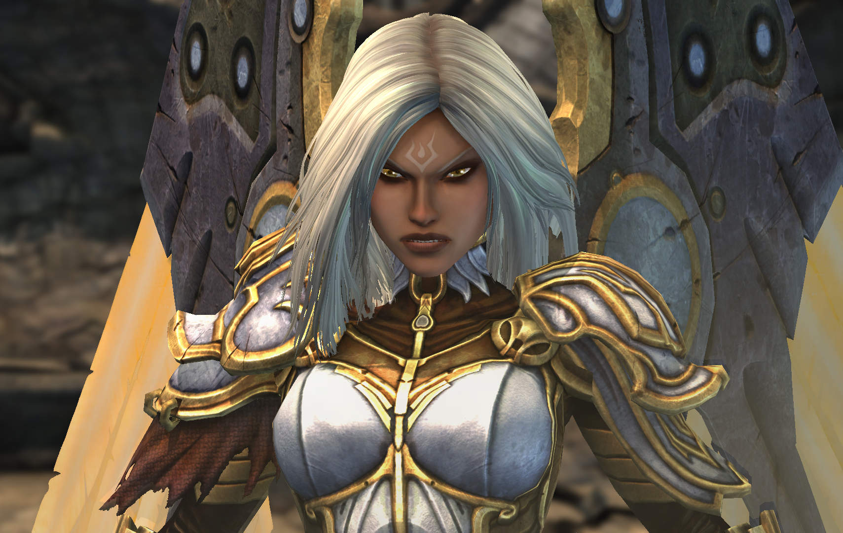 Uriel - Darksiders Wiki - Wrath of War, Weapons, Enemies ...