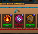 Secret scroll of wisdom