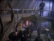 Sisko und seine Leute befinden sich in der Vergangenheit