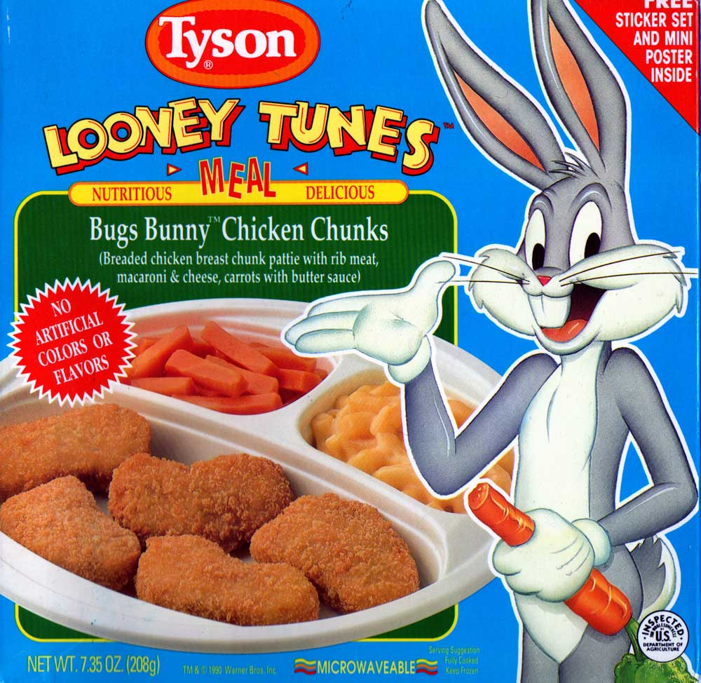Bugs Bunny Chicken Chunks Looney Tunes Meals Wiki