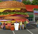 Hands on a Hamburger
