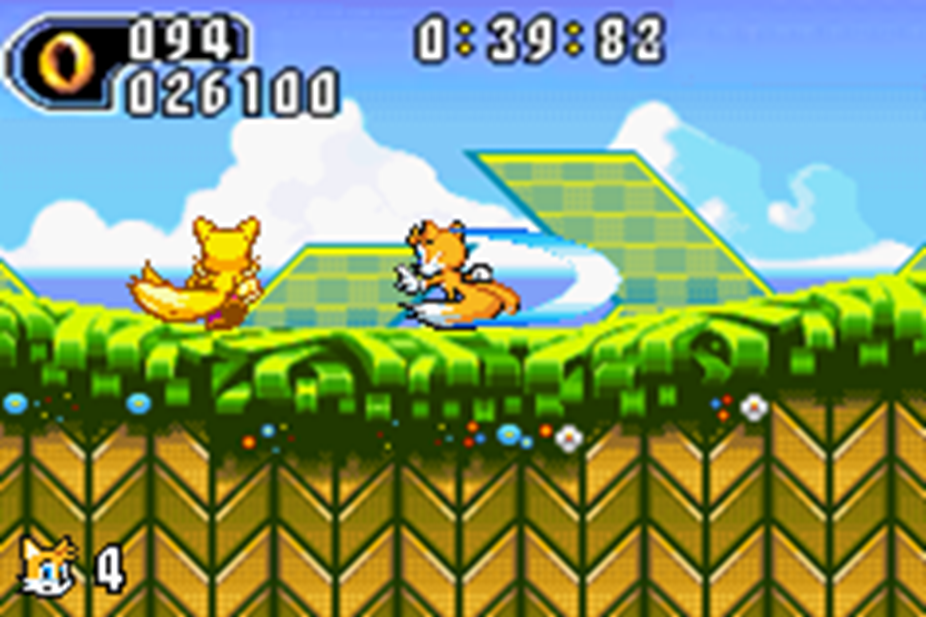 Super Knuckles And Super Tails Tails Using The Super Tail