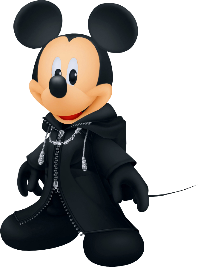Characters kingdom hearts Mickey_Cloaked