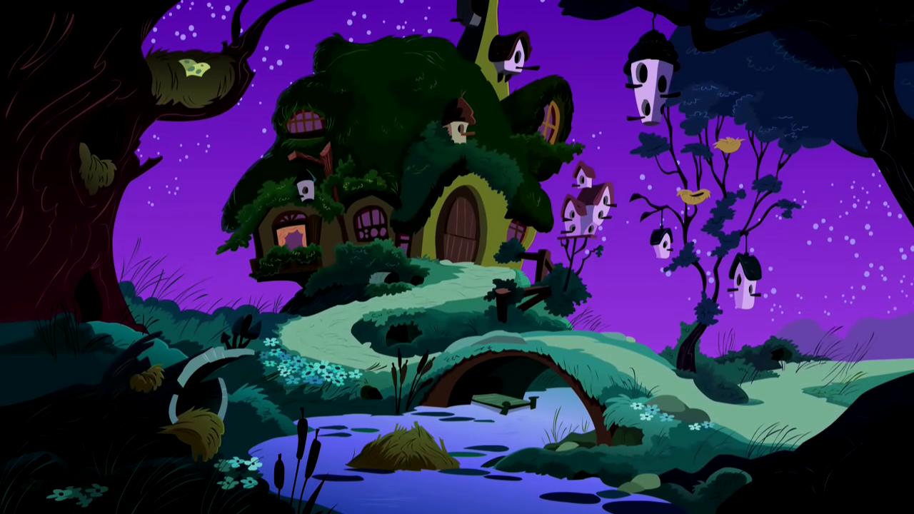 Image - Fluttershy's House S2E15.png - My Little Pony ...