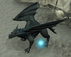 Frost Dragon with an active Frost Dragon Runescape