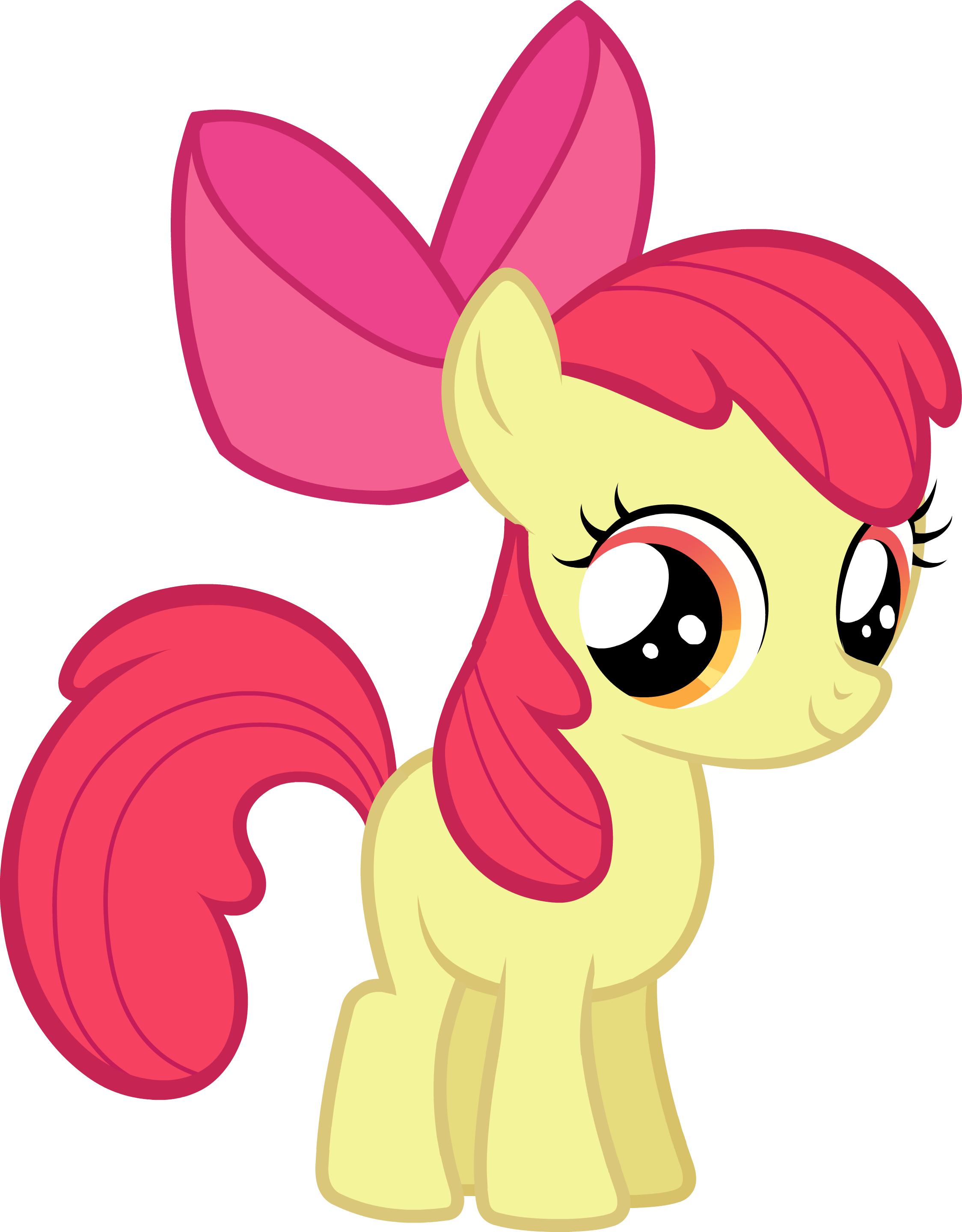 My Little Pony Friendship Is Magic Baby Apple Bloom Image - Castle Creator...