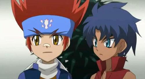 Image - Ginga and king.JPG - Beyblade Wiki - Wikia