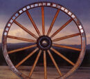 The Old Wagon Wheel