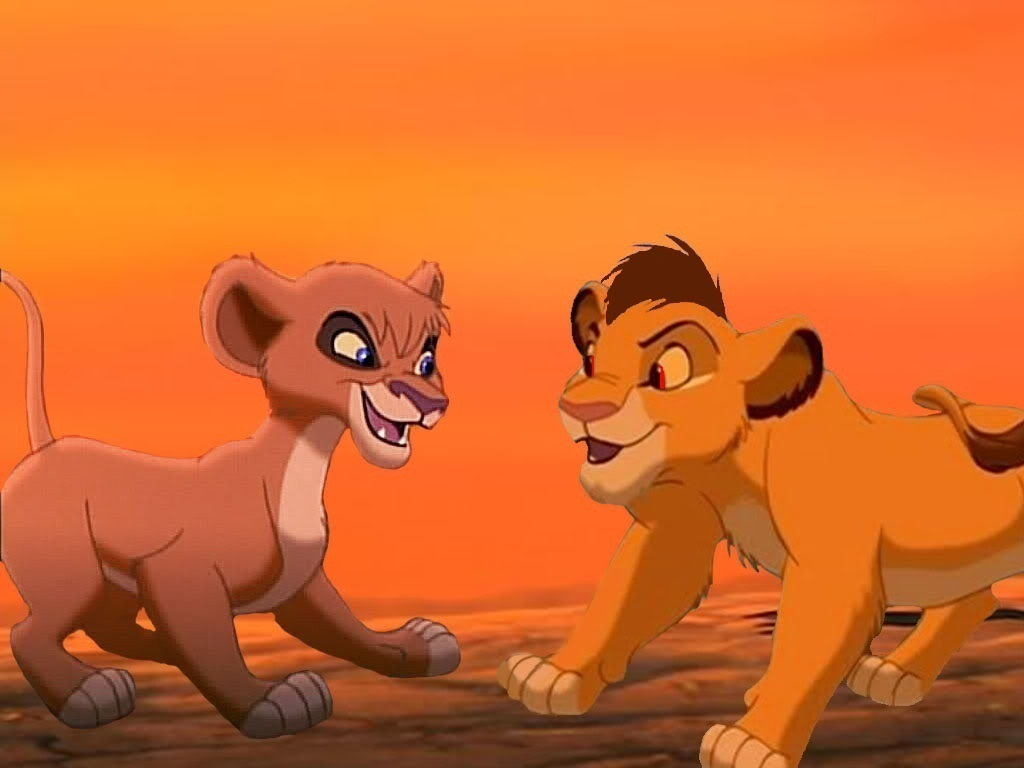 The lion king vitani and kopa - photo#1