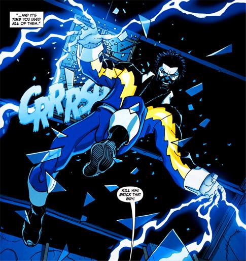 Electrokinesis - DC Comics Database