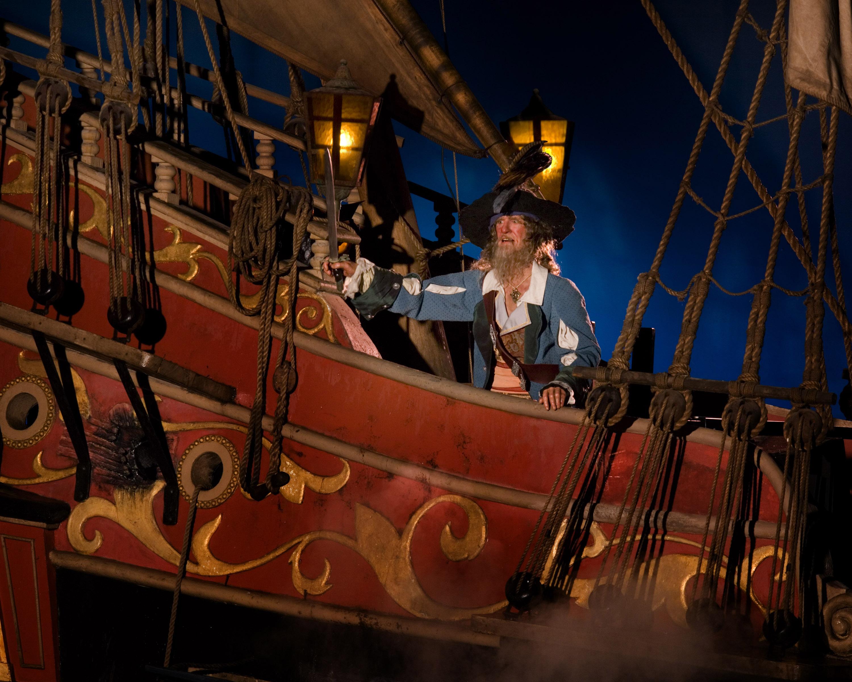 Pirates: Barbossa POTCride