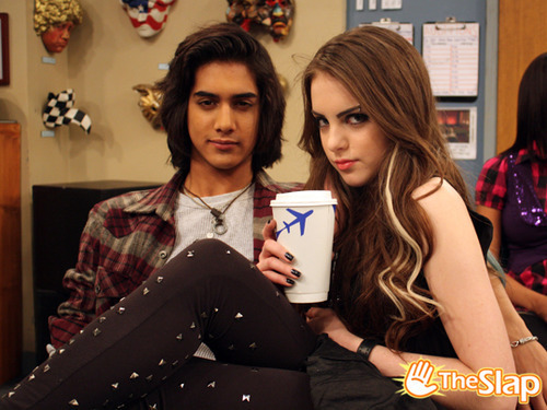 Image - Elizabeth Gillies and Avan Jogia.jpg - Victorious ...