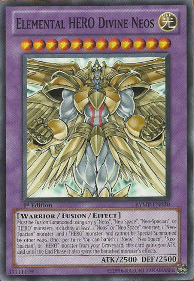 Elemental Hero God Neos Elemental HERO Divine Neos