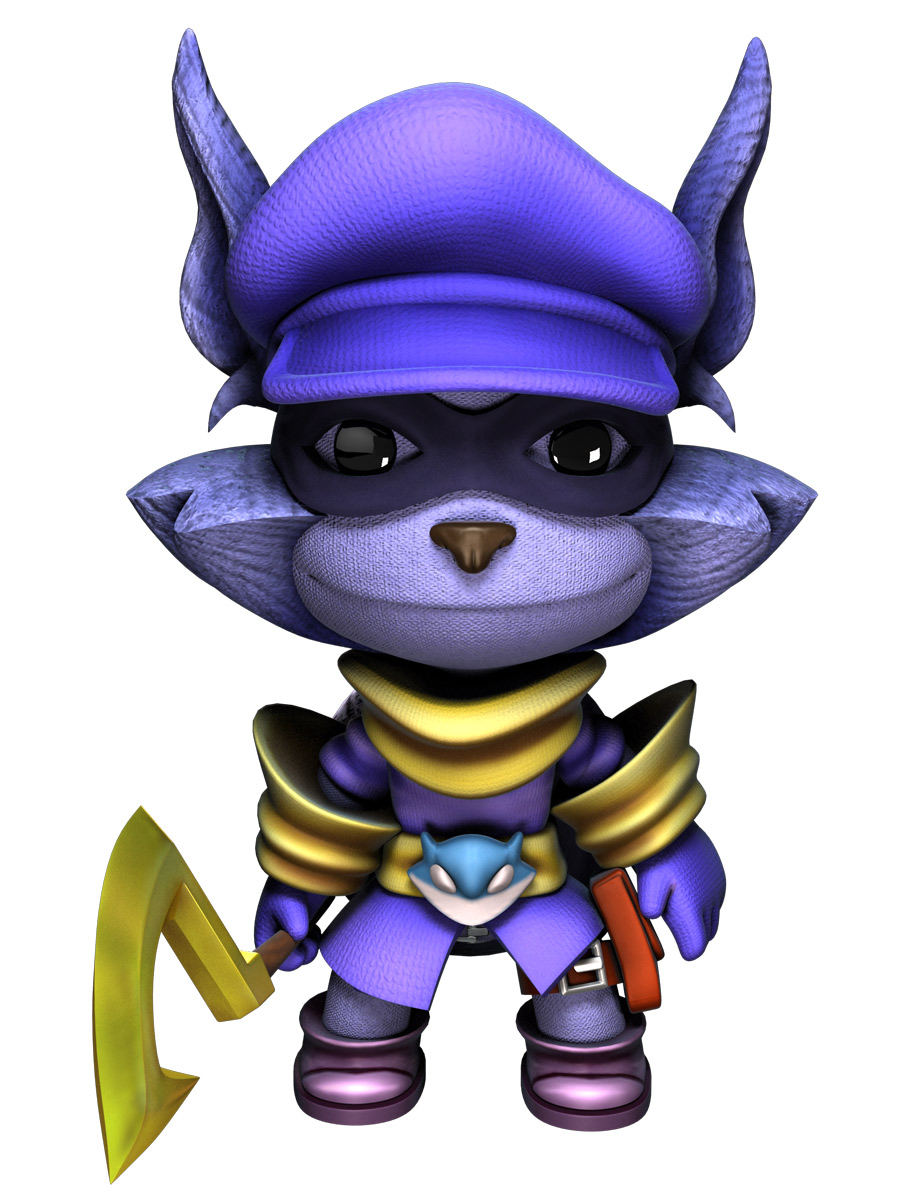Sly Cooper Costume The Littlebigplanet Wiki
