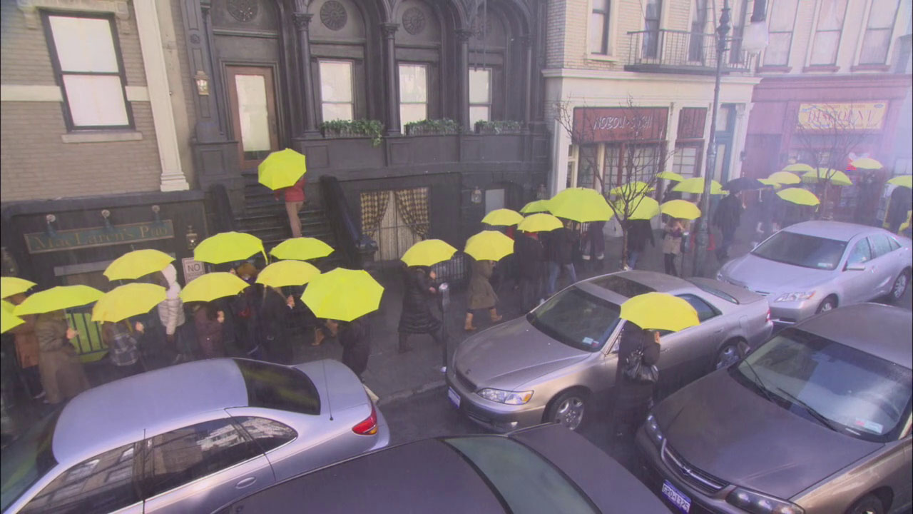 meet the fockers wedding scene umbrellas in rain