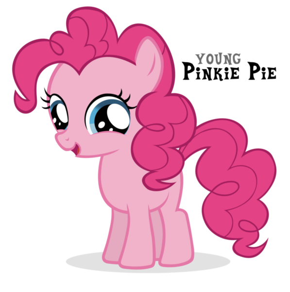 Little pinkie pie fanmade young pinkie pie png