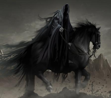 Black Horse Riders Lord Of The Rings