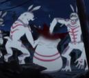 Bunny-man like giant monster