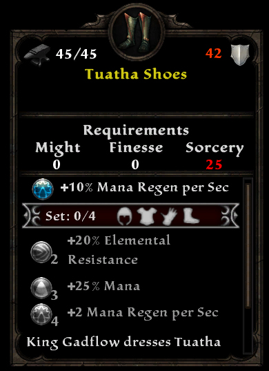Tuatha shoes