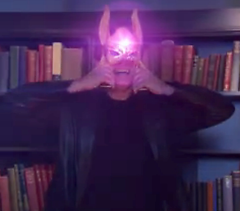 Image - Rufus wearing the mask.jpg - House of Anubis Wiki